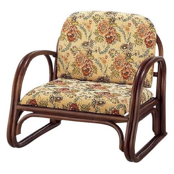 ジャガード楽々座椅子 ロータイプ RZ-739L