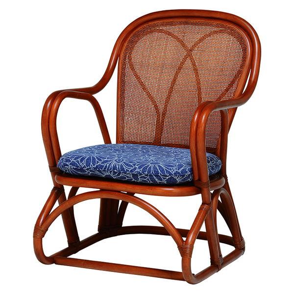 ゆったり高座椅子(ブラウン) 2脚セット RZ-822BR