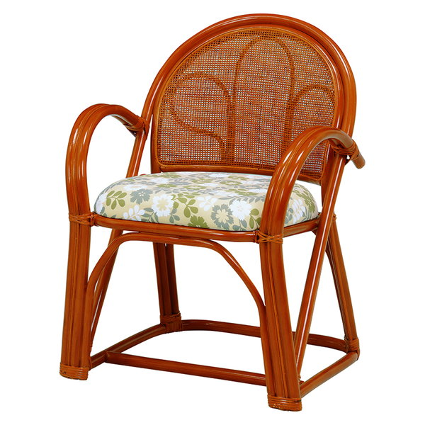籐製楽々座椅子 ハイ 2脚セット RZ-393
