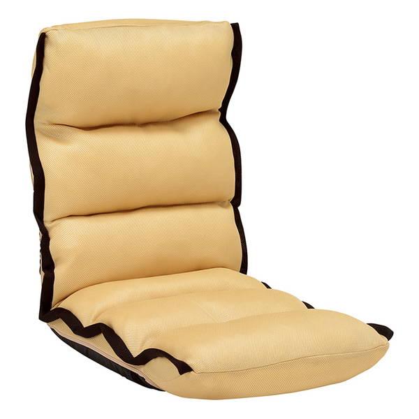 リクライニング座椅子(ベージュ) LZ-4289BE 4脚セット