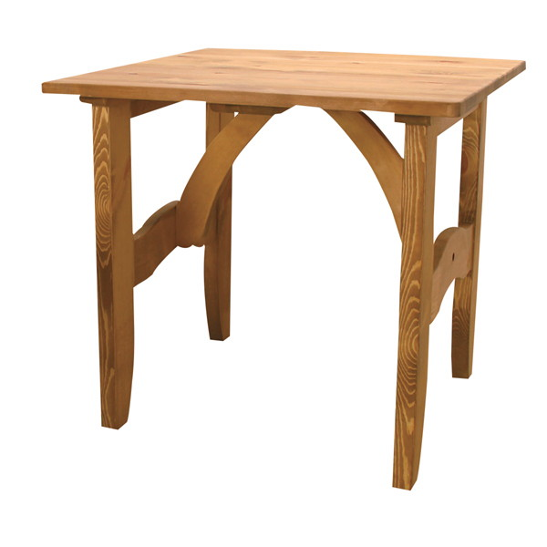 パイン材ダイニングテーブル正方形 CFS-511
