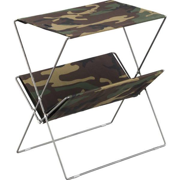 フォールディングサイドテーブル カモフラ MIP-91CM
