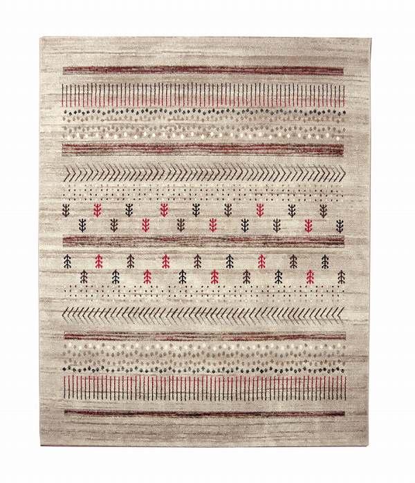 トルコ製 ウィルトン織り カーペット 『マリア RUG』 ベージュ 約133×190cm