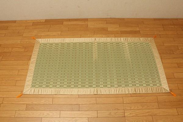 純国産 掛川織 い草御前(仏前)ござ 『古代』 約88×120cm
