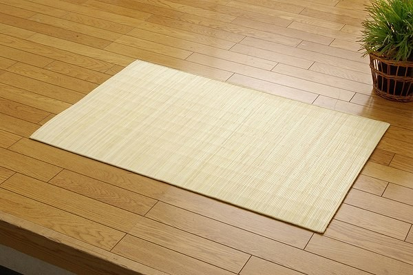 籐マット インドネシア産 39穴マシーンメイド むしろ 『ジャワ』 80×240cm