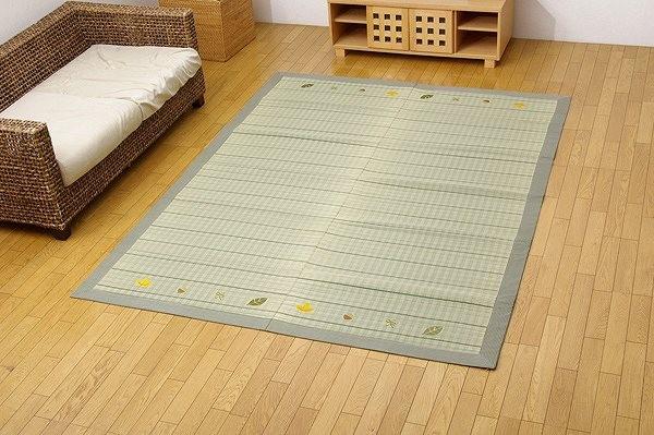 い草ラグカーペット 『DXカノンNF』 約180×290cm(裏:不織布)
