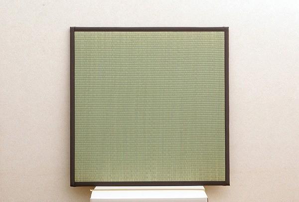 純国産 置き畳 ユニット畳 『天竜』 ブラウン 82×82×1.7cm(4枚1セット) 軽量タイプ