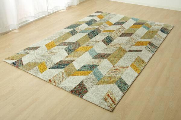 トルコ製 ウィルトン織り カーペット 『ノア RUG』 約133×190cm