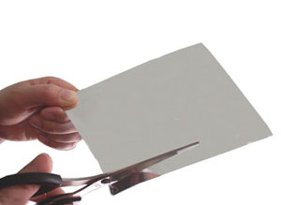 ハサミで自由にカット出来る オリジナルのミラーが作れる ハサミで切れる 割れない鏡 値下げ 塩ビミラー 限定特価 厚さ0.5mm 1枚 送料無料 100×100mmサイズ ポッキリ300円