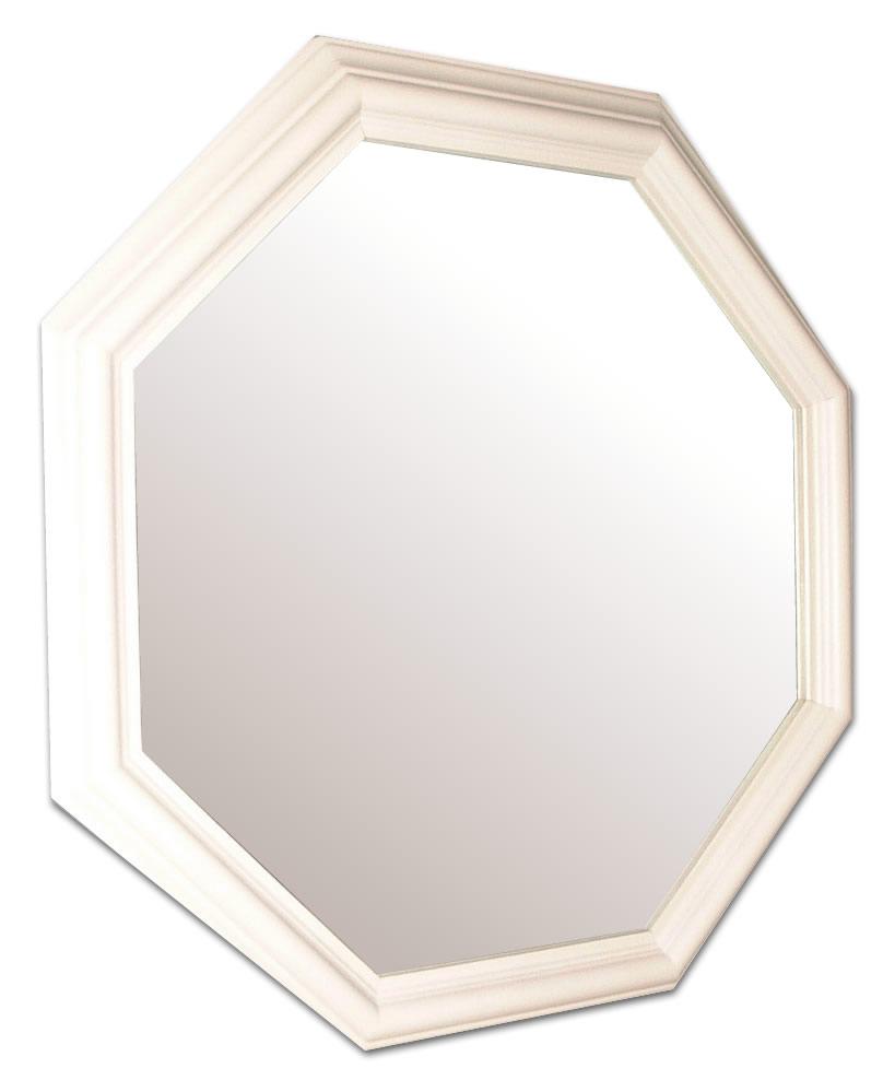 風水,八角形,鏡,ミラー,壁掛け鏡,ウォールミラー,幸運ホワイト