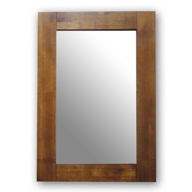 幅広フレーム,ミラー,ブラウン,60×90cm,鏡,立て掛け鏡,,豪華に見える極太フレームミラー60×90cm(ブラウン)SM13591【送料・代引手数料無料】