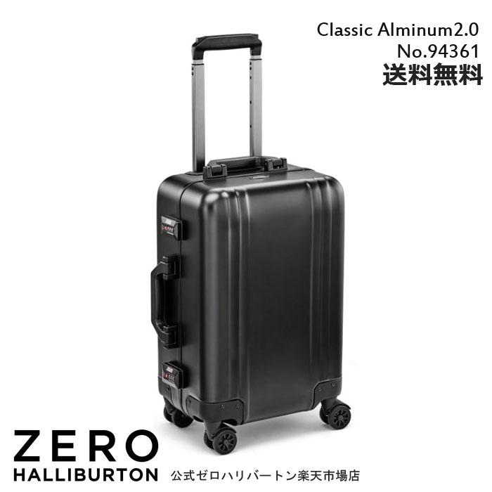 スーツケース 機内持ち込み ZERO HALLIBURTON Classic Alminum 2.0 TR  94361