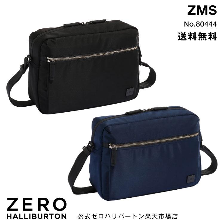 セール 30%OFF ショルダーバッグ 斜めがけ メンズ ゼロハリバートン ZERO ZMSシリーズ ヨコ型ショルダー 80444