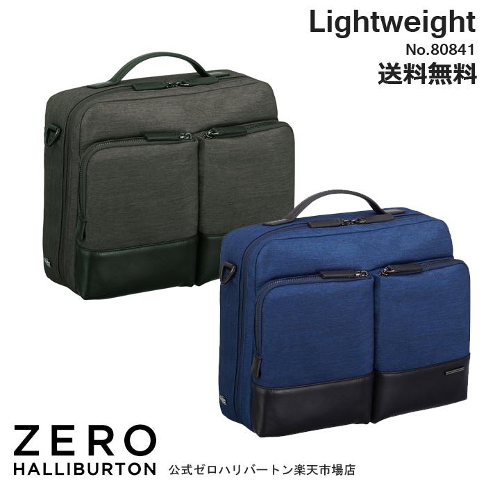 ショルダーバッグ メンズ ゼロハリバートン ZERO HALLIBURTON Lightweight Busibess 80841