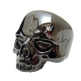 ZERO LIMIT-original-(ゼロリミットオリジナル)BZR-15[Skull] スカルリング【シルバースカルリング】【ブラックスカルリング】ブラックコーティング 【ブラックリング】【smtb-k】【kb】