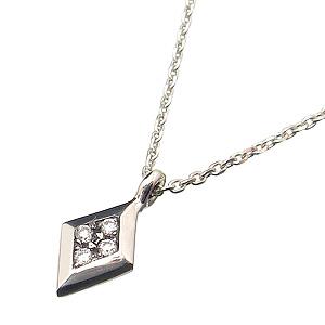 SOL(プエルタデルソル)NE621 Collection【smtb-k】【kb】 DEL NEWダイヤネックレスw/ダイヤモンド45cmシルバーチェーン付♪(調節可能)Diamond【トランプダイヤ】【ネックレスチャーム】2010-2'nd PUERTA
