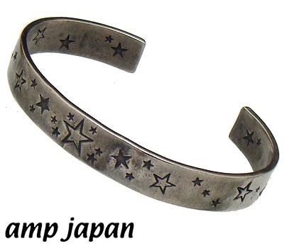 amp japan(アンプジャパン)15AO-344/ナローバングルブレスレットスターダストバングル【幅=0.9cm:1サイズフリー】【ギフト包装-対応】アンプジャパン(amp apan)バングル ブレスレット