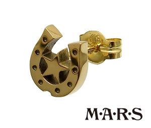 送料無料 代引き手数料無料 M A R S M.A.R.S マーズ メンズピアス レディースピアス 配送員設置送料無料 ゴールド 通販 ピアス MARS K18金 ゴールドアクセサリー イエロー ギフト包装-対応 M2107P 馬蹄