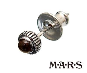 M・A・R・S(MARS/マーズ)M2128P【ストーンリューズピアス】丸ピアス/ストーンピアス/レッドガーネット【メンズピアス/レディースピアス/シルバーピアス】【シルバーアクセサリー】【ギフト包装-対応】