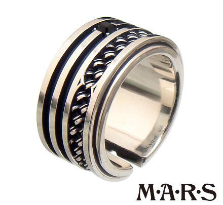 M・A・R・S(M.A.R.S/mars/マーズ)【M1860R】シルバー コンポジット クルズ リング【メンズ レディース アクセサリー リング 指輪 シルバー925】M・A・R・S(M.A.R.S/mars/マーズ)【ギフト包装-対応】