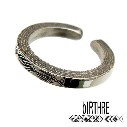 bIRTHRE(バースレ)【R-17】Engraving リング 指輪 [5号~23号]【シルバー 950】【メンズ リング レディース リング シルバー リング ペアー リング 指輪 モチーフ オール ハンドメイド 1点 製作 打刻】【ギフト包装-対応】