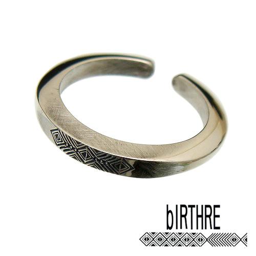 [5号~23号]【シルバー リング bIRTHRE(バースレ)【R-19SV】Engraving 950】【ギフト包装-対応】 指輪