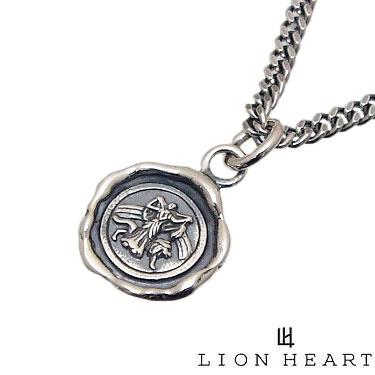 LION HEART ライオンハート 01NE1521SV スモールコア ペンダント ネックレス 封蝋 メンズ レディース lion heart ライオンハート [チェーン 付] 【ギフト包装-対応】