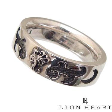 LION HEART ライオンハート 01RN0801 シルバー925 ハウル トライバル テクスチャー リング 指輪 【ギフト包装-対応】