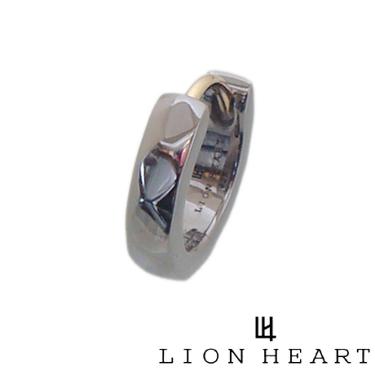 送料無料 代引き手数料無料 Lion Heart ライオンハート アウトレットセール 特集 ブラックコーティング シルバー フープ ピアス 中古 ゴールド ポスト LION HEART 01EA0991BK ギフト包装-対応 女性 メンズ 男性 カッティング レディース プレゼント ユニセックス クリスマス アクセサリー ペア