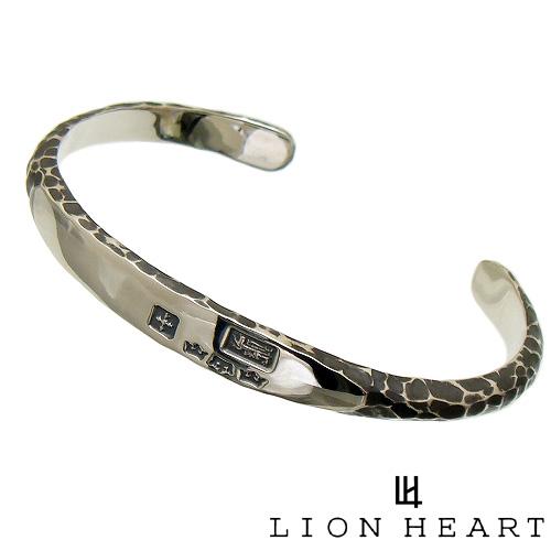 送料無料 代引き手数料無料 Lion Heart 予約販売品 超安い ライオンハート シルバー バングル LION HEART ギフト包装-対応 01BA0011SV ブレスレット シルバー925
