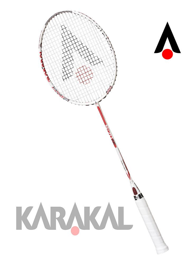 KARAKAL カラカル S 70 FF 3種類のデザイン バドミントン ラケット バドミントンラケット バトミントン バトミントンラケット badminton racket 【送料無料(沖縄・離島は除く)】【あす楽対応】 【 ガット代 & ガット張り 代 無料】