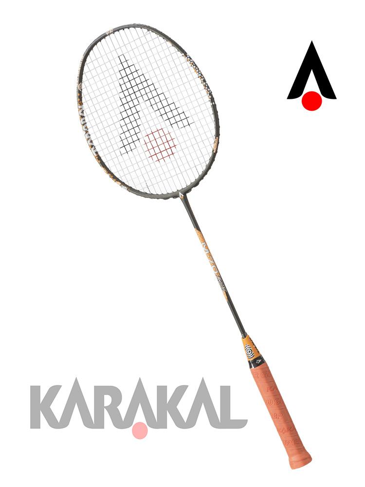 KARAKAL カラカル M70FF マット系 Bパターン バドミントン ラケット バドミントンラケット バトミントン バトミントンラケット badminton racket 【送料無料(沖縄・離島は除く)】【あす楽対応】 【 ガット代 & ガット張り 代 無料】