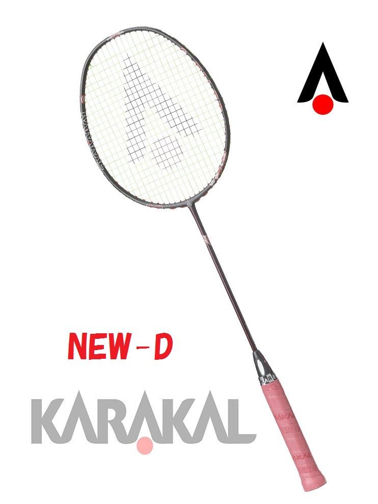 KARAKAL カラカル 超軽量 BN 60 FF 2種類のデザイン バドミントン ラケット バドミントンラケット バトミントン バトミントンラケット badminton racket 【送料無料(沖縄・離島は除く)】【あす楽対応】 【 ガット代 & ガット張り 代 無料】