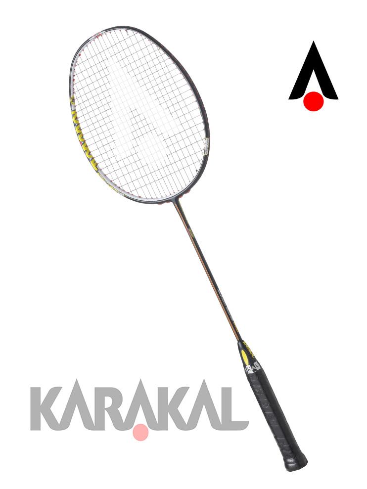 KARAKAL カラカル BLACK ZONE PRO バドミントン ラケット バドミントンラケット バトミントン バトミントンラケット badminton racket 【送料無料(沖縄・離島は除く)】【あす楽対応】 【 ガット代 & ガット張り 代 無料】