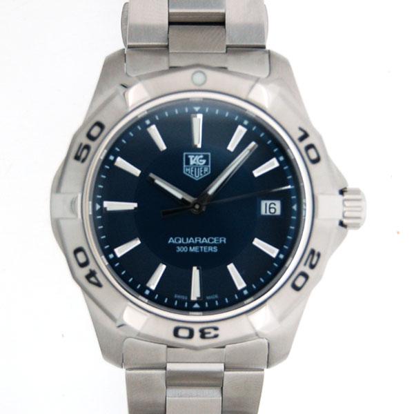 taguhoiya TAG HEUER Aqua速度比賽者WAP1112.BA0831石英藍色SS新貨