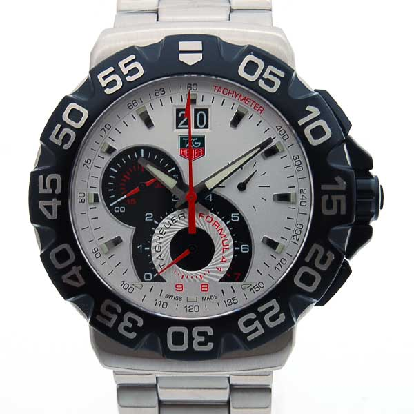 Tag Heuer Tag Heuer Formula 1 Chronograph Grande Date Cah1011 Ba0854 44 Mm White Brand New