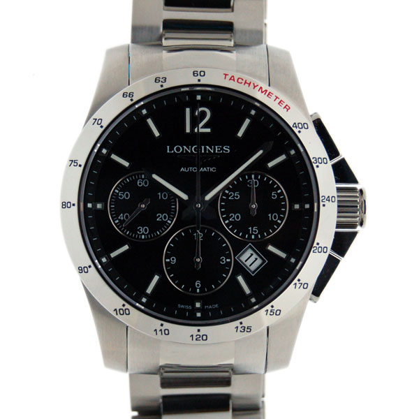 3fa00e24f Categories. « All Categories · Watches · Men's Watches · Longines LONGINES  conquest automatic chronograph ...