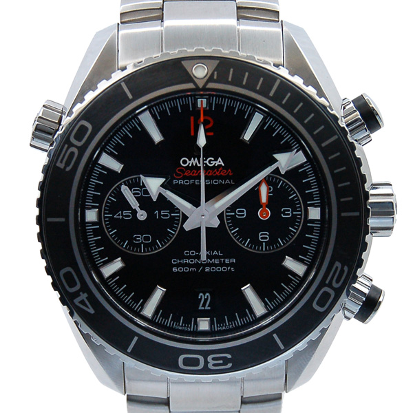 Omega Omega Seamaster Planet Ocean Chronograph 232 30 46 51 01 003 Ss Black Used