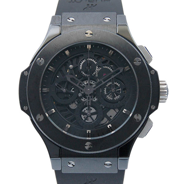 Hublot HUBLOT big bang Aero bang all black 310.CM.1110.RX world 500 limited edition USED