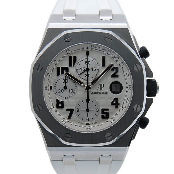 Audemars Piguet Audemars Piguet Royal Oak Offshore Chrono Safari 26170 St Oo D091cr 01 Ss Ivory Belt Used