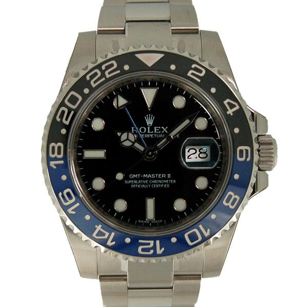ロレックス ROLEX GMTマスター2 116710BLNR 40mm 青黒ベゼル 【未使用品】