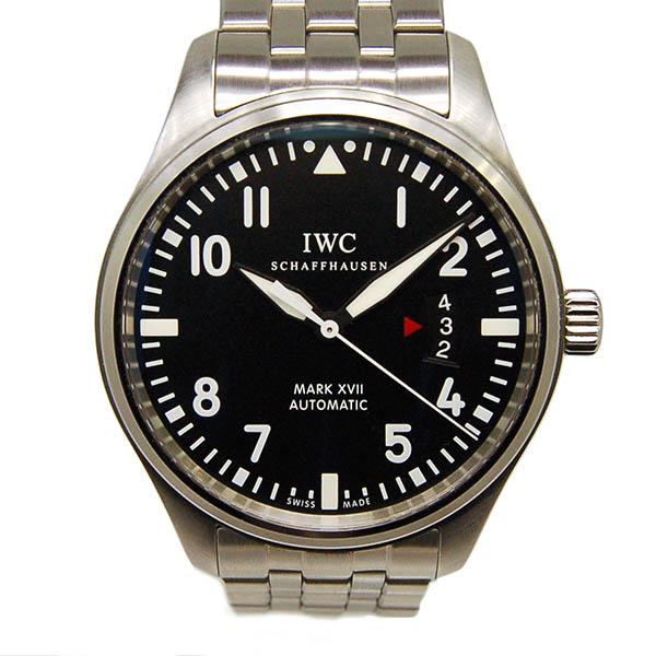 【保証書有り】IWC マーク17 IW326504 SS ブラック 自動巻 41mm USED 【中古】
