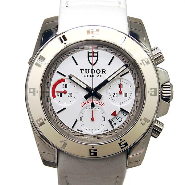 TUDOR【チュードル】 20350W 腕時計 SS/革 メンズ