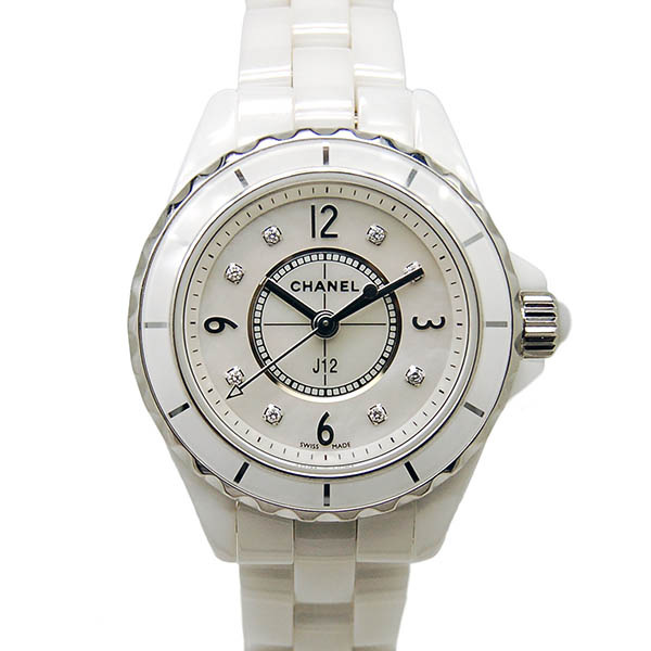 CHANEL【シャネル】 7474 腕時計 セラミック レディース