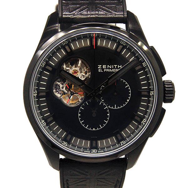 ZENITH【ゼニス】 96.2260.4061/21.R575 腕時計 /チタン(DLCコーティング) メンズ