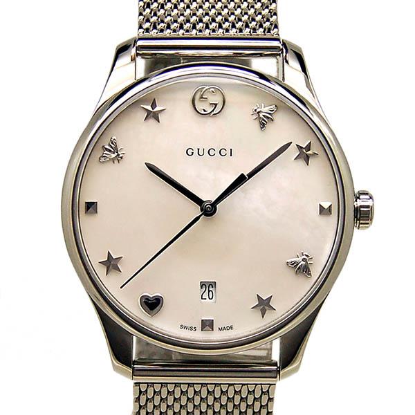 GUCCI【グッチ】 7452/ステンレス YA1264040 レディース