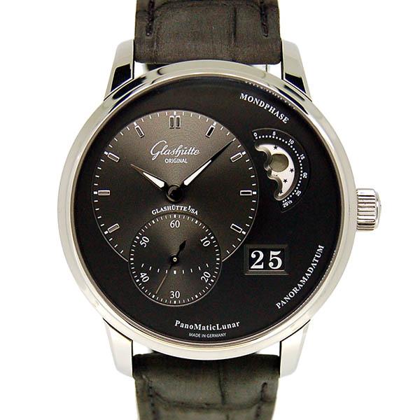 GLASHUTTE ORIGINAL【グラスヒュッテ・オリジナル】 パノマティックルナ 1-90-02-43-32-50 腕時計 SS/SS(ステンレススチール) メンズ
