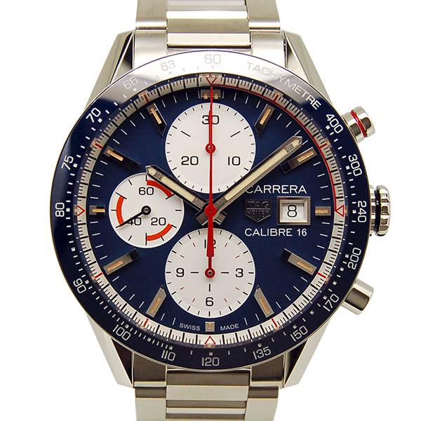TAG HEUER【タグホイヤー】 カレラクロノグラフ キャリバー16 CV201AR.BA0715 腕時計 SS/SS(ステンレススチール) メンズ