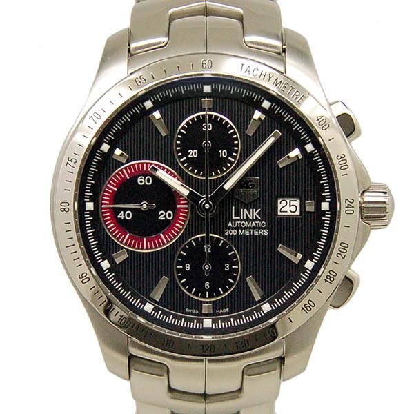 TAG HEUER【タグホイヤー】 リンク クロノグラフ CJF211L.BA0594 腕時計 SS/SS(ステンレススチール) メンズ