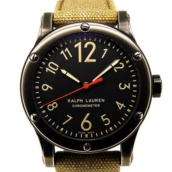RALPH LAUREN【ラルフローレン】 スポーティング サファリRL67 クロノメーター RLR0220900 7437 腕時計 ステンレススチール(PVDコーディング)/ステンレススチール(PVDコーティング) メンズ